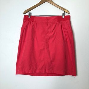 CJ Banks Coral Skirt with Attached Shorts Size 14W